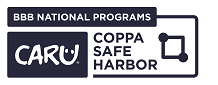 CARU COPPA Safe Harbor Connected Reverse Blue