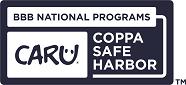 CARU COPPA Safe Harbor Primary Blue