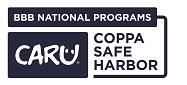 CARU COPPA Safe Harbor Primary Reverse Blue