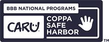 CARU COPPA Safe Harbor KIDS Blue