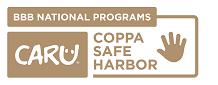 CARU COPPA Safe Harbor KIDS Reverse Gold