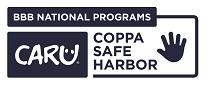 CARU COPPA Safe Harbor KIDS Reverse Blue