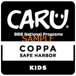 CARU_COPPA_SafeHarbor_Kids_S-Black-150x150