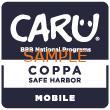 CARU_COPPA_SafeHarbor_Mobile_S-NationalBlue-110x110