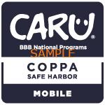CARU_COPPA_SafeHarbor_Mobile_S-NationalBlue-150x150
