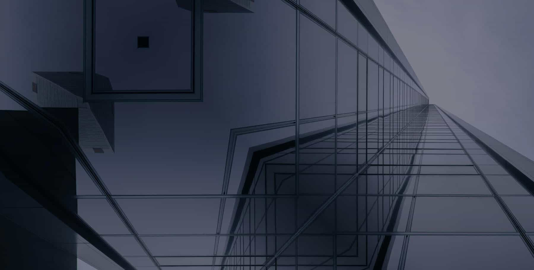 Abstract Image of a Glass Building