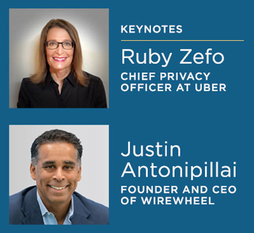 PrivacyCollective keynote conversation - Ruby Zefo, Chief Privacy Officer at Uber, and Justin Antonipillai, Founder and CEO of WireWheel
