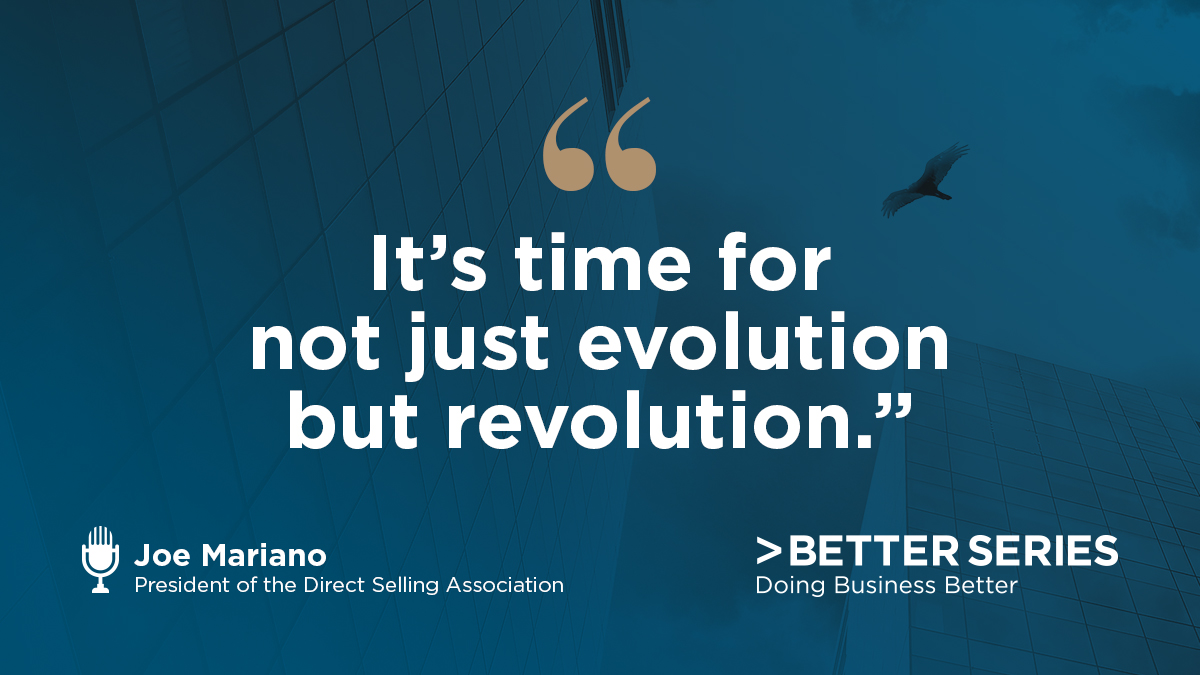 Time for Revolution in the Direct Selling Industry BBB National Programs Podcast