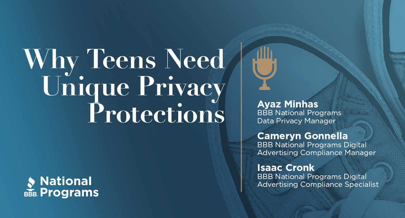 TeenAge Privacy Program Data Privacy Podcast